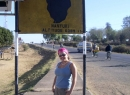 Time off in Kenya: standing on the equator