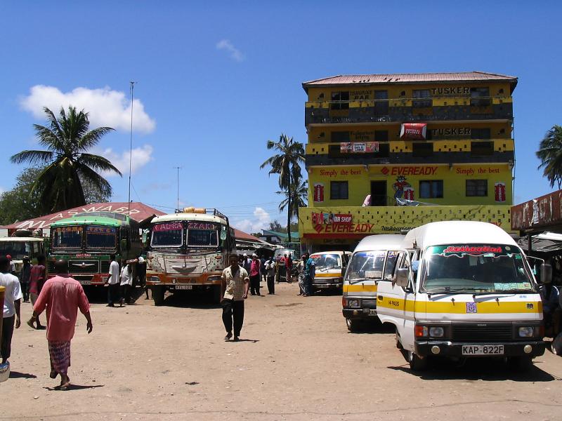 Matatu stop